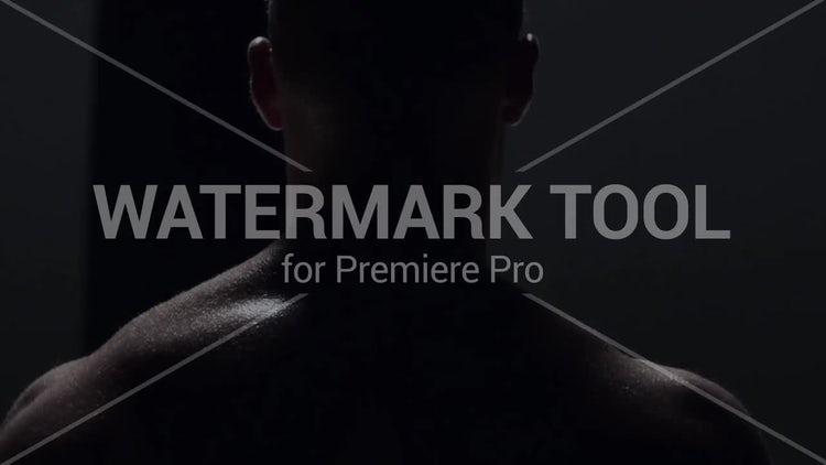 Watermark Tool: Motion Graphics Templates