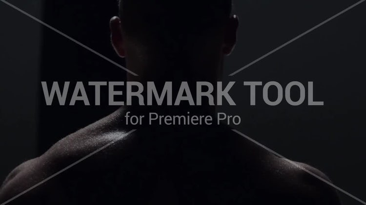 Watermark Tool: Motion Graphics Templates