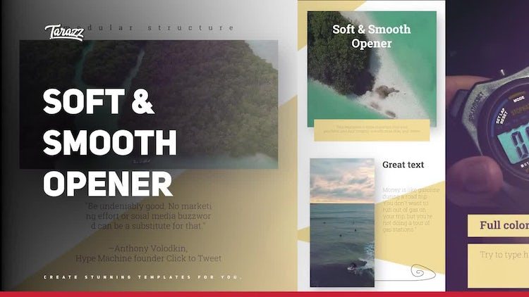 Soft & Smooth Opener: Premiere Pro Templates