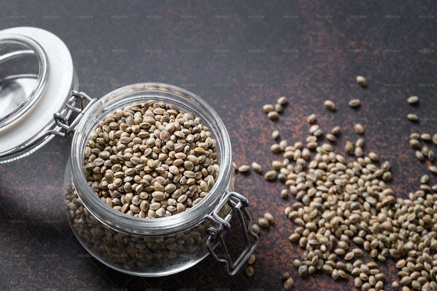 Hemp Seeds: Stock Photos
