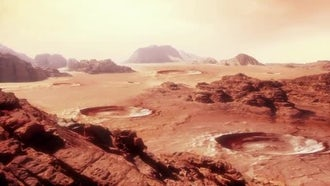 Martian Landscape Pack: Motion Graphics