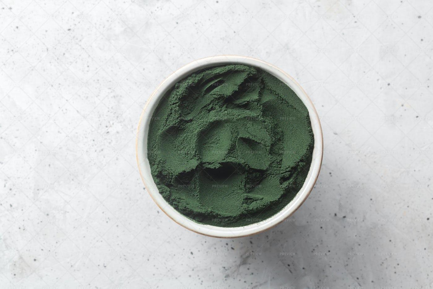 Chlorella Single Celled Algae: Stock Photos