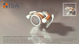 International Space Alliance Drone: Motion Graphics