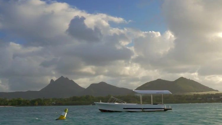 Beautiful Mauritius Landscape : Stock Video