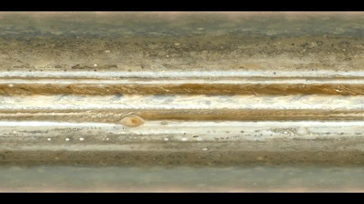 Animated Jupiter Texture: Motion Graphics