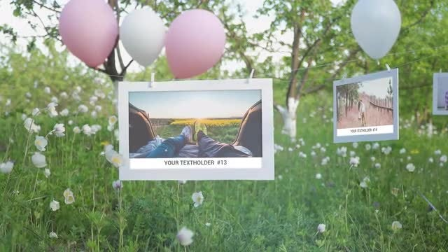 Photo Gallery - Our Happy Day: After Effects Templates