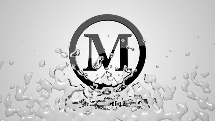 Liquid Logo Reveal: After Effects Templates