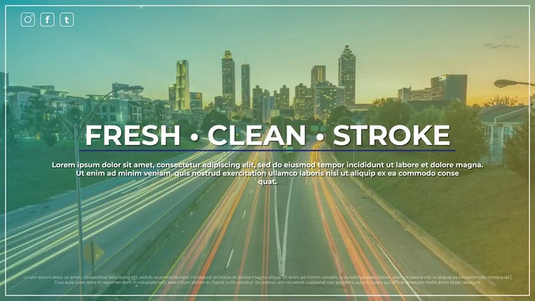 Fresh Promo: After Effects Templates