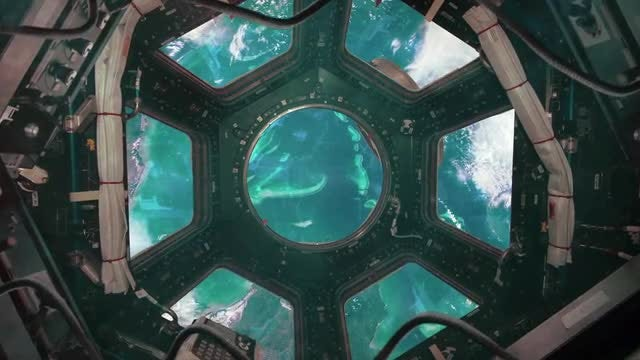 International Space Station View 2: Stock Motion Graphics
