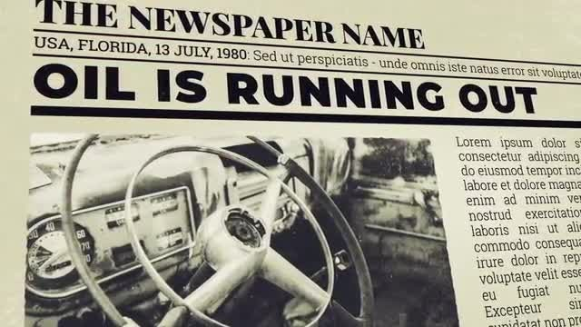 Newspaper Investigation: After Effects Templates