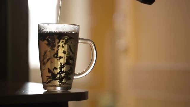 Making Herbal Tea: Stock Video