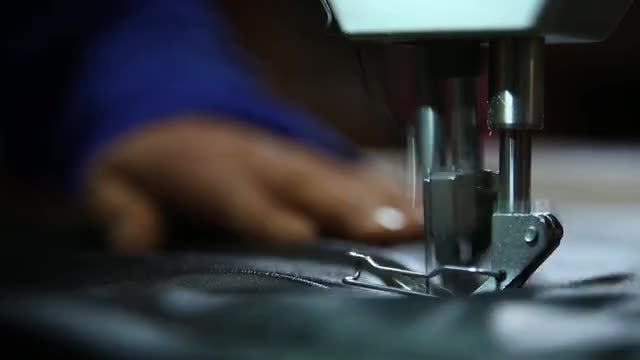 Sewing Machine: Stock Video