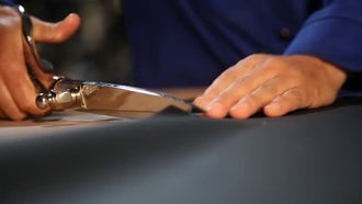 Scissor Cut: Stock Video
