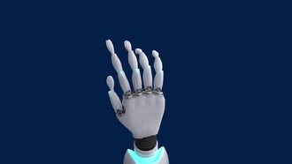 3 Clicking Robotic Hands Pack : Motion Graphics