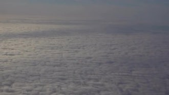 Flying Above White Clouds: Stock Video