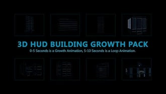HUD Building Pack 01: Motion Graphics