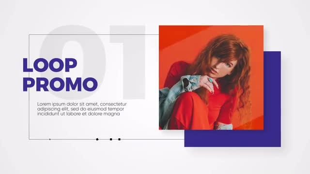 Loop - Clean Promo: After Effects Templates