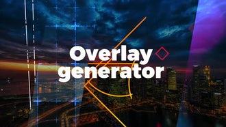 Overlay Generator: Motion Graphics Templates