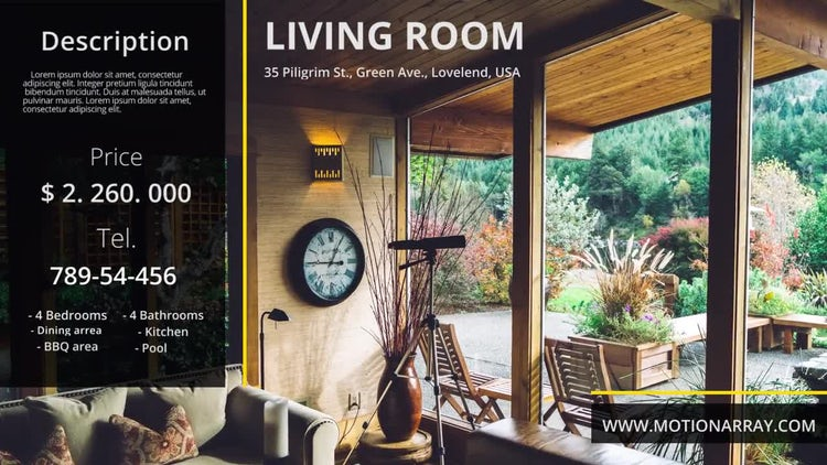 Real Estate Promo: Premiere Pro Templates