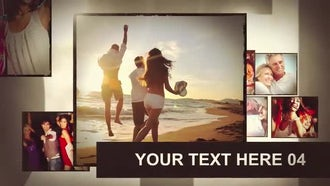 Album Gold: After Effects Templates