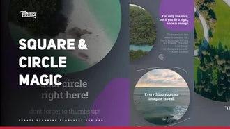 Square & Circle Magic: Premiere Pro Templates