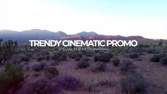 Trendy Cinematic Promo: Premiere Pro Templates