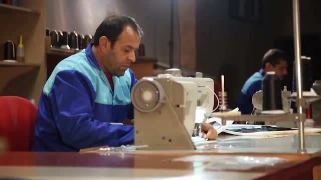 Tailor Studio Employees: Stock Video