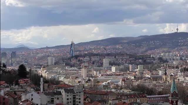 Sarajevo, Bosnia And Herzegovina: Stock Video