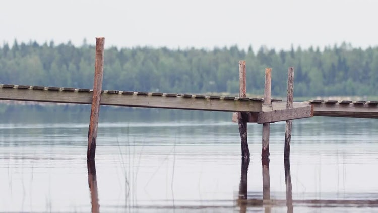 Summer Water Background 4k Loop: Stock Video