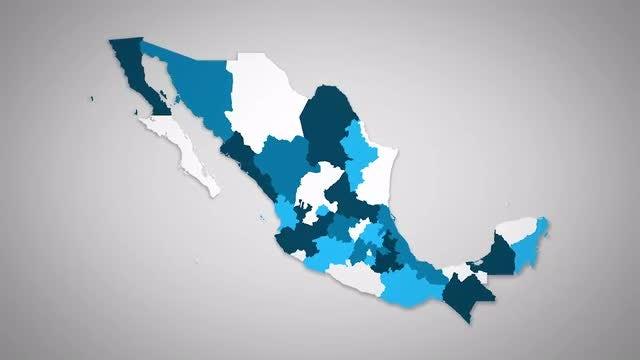 Mexico States Combine: Stock Motion Graphics