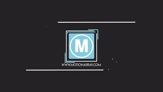 Square Shape Logo: Premiere Pro Templates