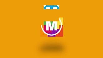 Blocks Logo Reveal: Premiere Pro Templates