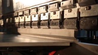 Steel Bending: Stock Video