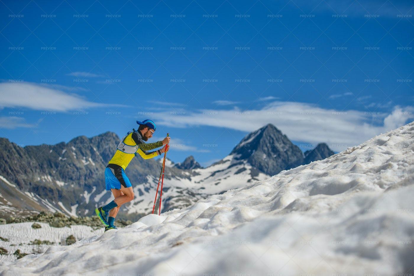 Skyrunning Training: Stock Photos
