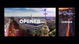Dynamic Opener Slideshow 3 Ver.: Premiere Pro Templates