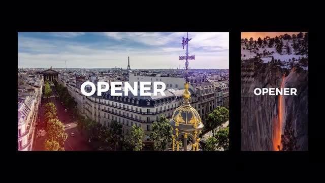 Dynamic Opener Slideshow 3 Ver.: Premiere Pro Templates