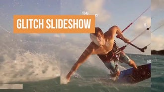 Glitch Slideshow: After Effects Templates