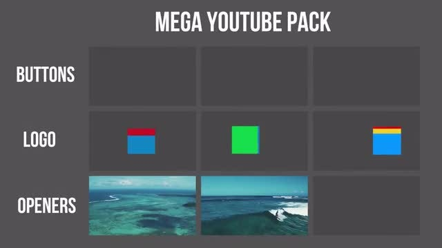 Youtube Pack: Premiere Pro Templates