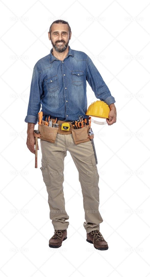 Handyman Portrait: Stock Photos