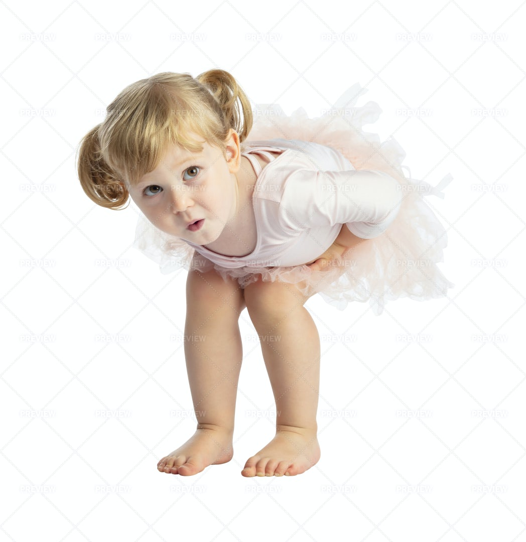 Child With Tutu: Stock Photos