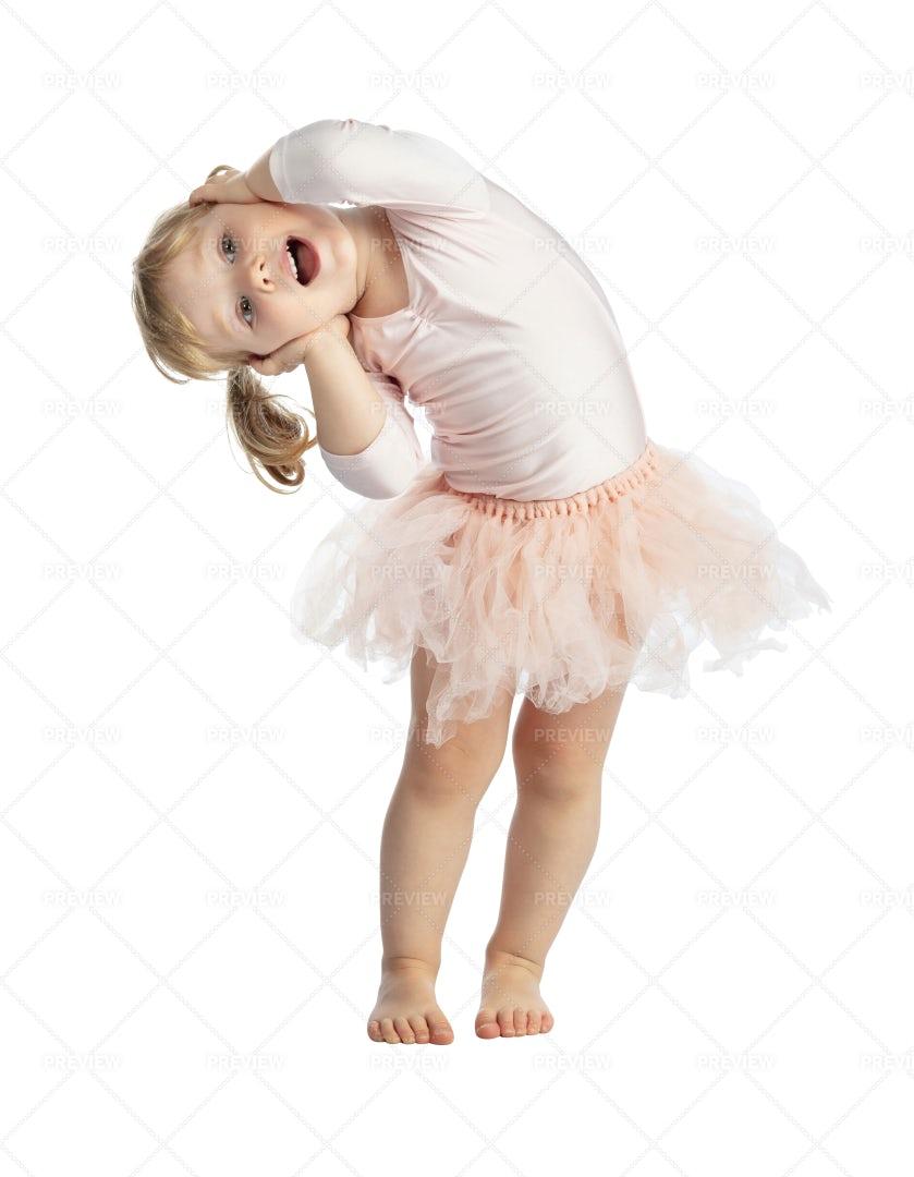 Happy Ballerina: Stock Photos