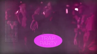 Trap Glitch Party: Premiere Pro Templates