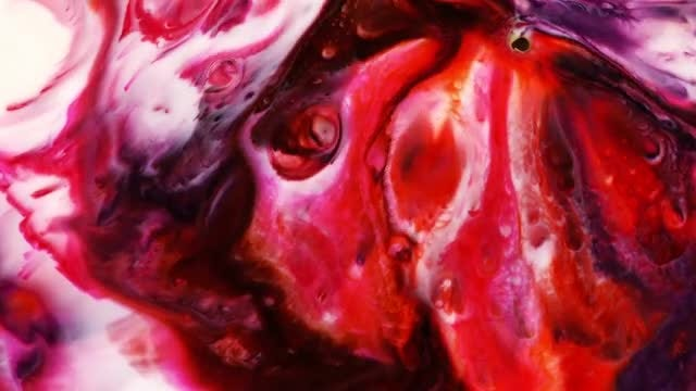 Milk Food Coloring Mixer: Stock Video