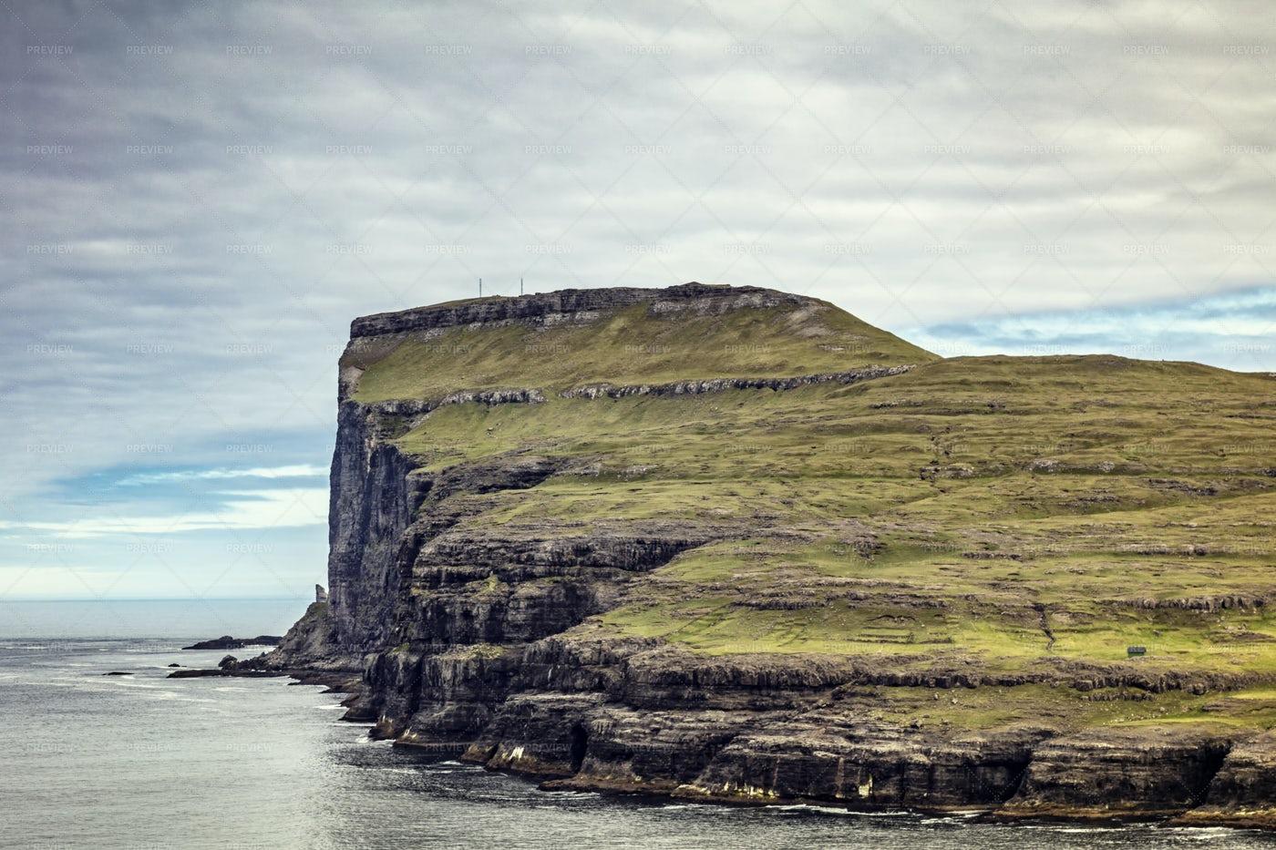 Scenic View In Faroe: Stock Photos