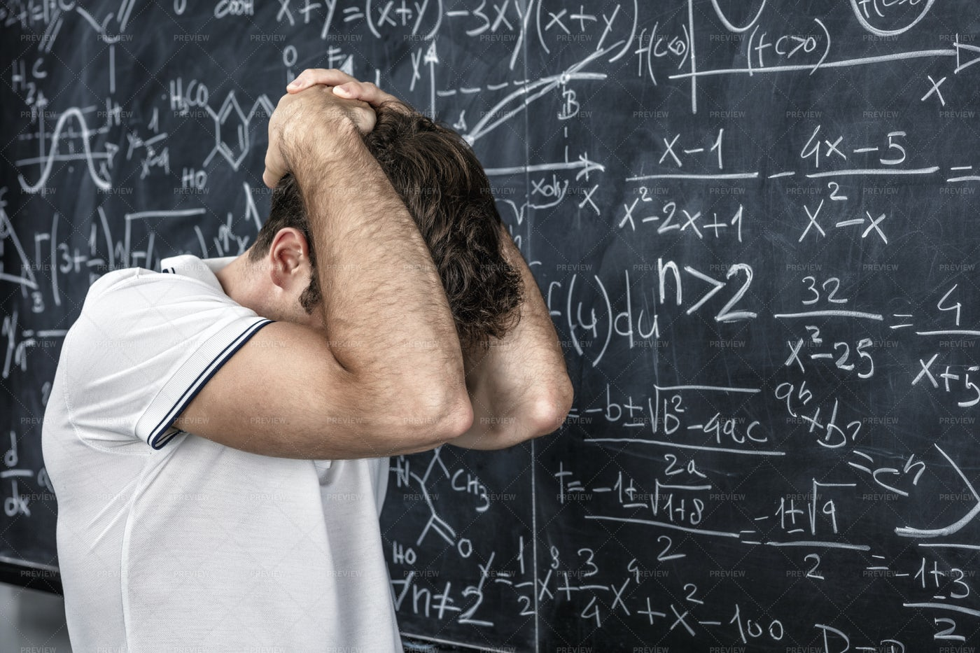 Stressed Stduent: Stock Photos