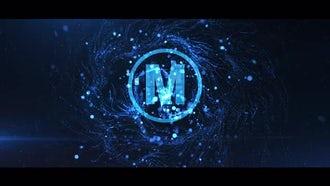 Particle Vortex Logo: Premiere Pro Templates