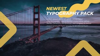 Typography Pack Scenes: After Effects Templates