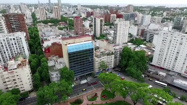 Aerial Drone Buenos Aires, Argentina: Stock Video
