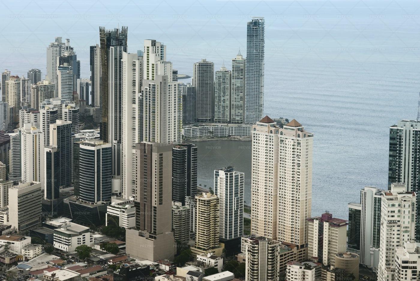 Panama City Skyscrapers: Stock Photos
