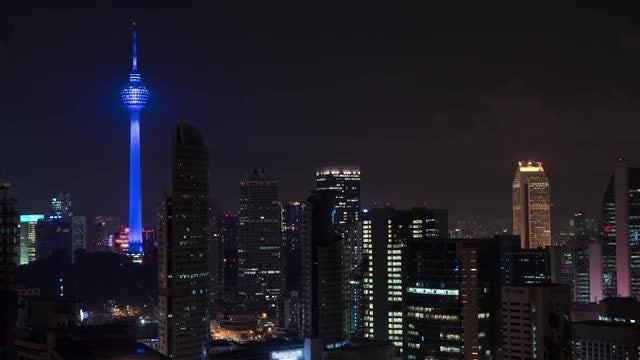 Time-lapse Of Kuala Lumpur: Stock Video